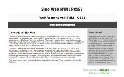 Web Responsive – HTML5/CSS3