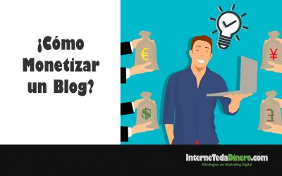 Monetizar blog