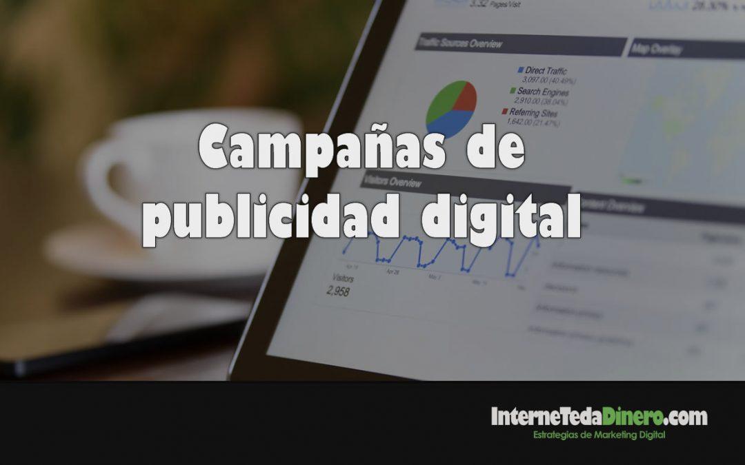 Campañas de publicidad digital
