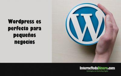 WordPress es perfecto para pequeños negocios