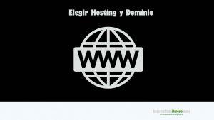 hosting-dominio
