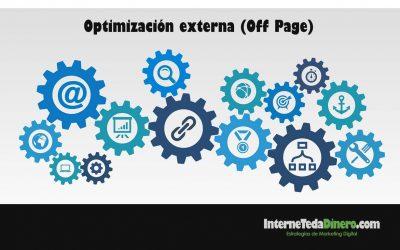 Optimizaciónexterna (Off page)