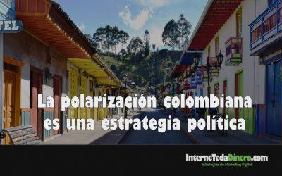 La polarización colombiana es una estrategia política