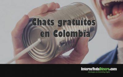 Chats gratuitos en Colombia