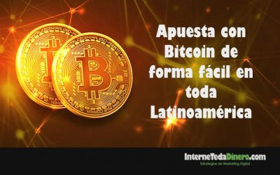 Apuesta con Bitcoin de forma fácil en toda Latinoamérica